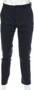 Granatowe spodnie Viggo