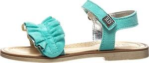Buty dziecięce letnie Trevirgolazero ze skóry