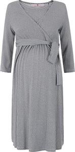 Sukienka bellybutton midi z długim rękawem