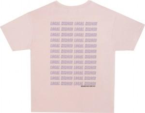 Różowa bluzka LOCAL HEROES z bawełny