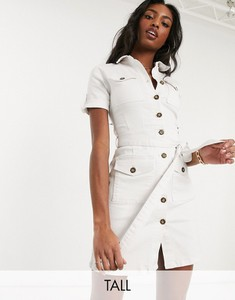 Sukienka Parisian Tall z jeansu szmizjerka