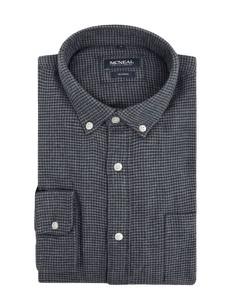 Granatowa koszula McNeal z długim rękawem