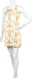 Sukienka Little Marcel z okrągłym dekoltem w stylu casual bez rękawów