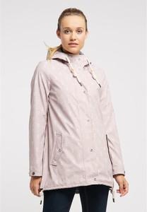 Różowa kurtka Schmuddelwedda z bawełny