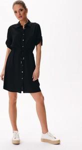 Sukienka Diverse koszulowa w stylu casual mini