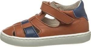 Buty dziecięce letnie Kmins na rzepy ze skóry