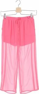 Różowe spodnie dziecięce Twinset