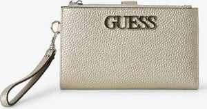 Złota torebka Guess ze skóry ekologicznej