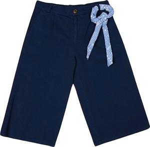 Niebieskie spodenki dziecięce Tommy Hilfiger z bawełny