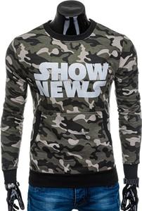 Bluza Edoti w militarnym stylu