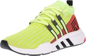 Zielone buty sportowe Adidas Originals w sportowym stylu