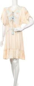 Sukienka Esqualo mini z krótkim rękawem