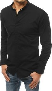 Koszula Dstreet w stylu casual z bawełny z długim rękawem