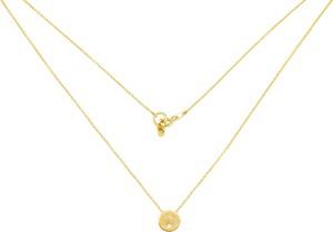 Perlove Naszyjnik Złoty z Kółeczkiem