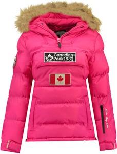 Różowa kurtka Canadian Peak krótka