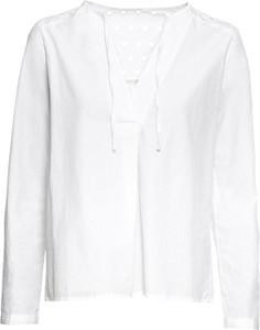 Bluzka bonprix RAINBOW z dekoltem w kształcie litery v z długim rękawem