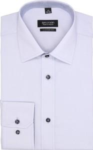Biała koszula recman bez wzorów