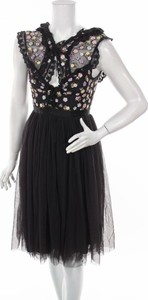 Czarna sukienka Needle&thread