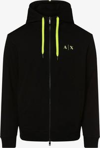 Czarna kurtka Armani Exchange w stylu casual krótka