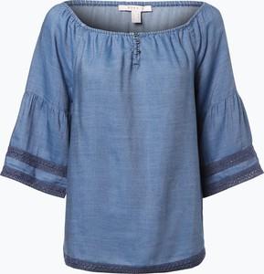 Esprit casual - bluzka damska, niebieski
