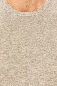 Sweter Tailored & Originals z okrągłym dekoltem z dzianiny w stylu casual