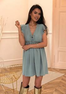 Sukienka Latika trapezowa w stylu casual mini