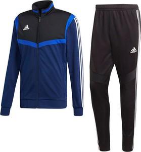 Granatowy dres Adidas