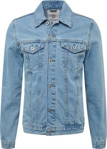 Kurtka Solid z jeansu w młodzieżowym stylu