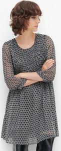 Sukienka Reserved mini z szyfonu