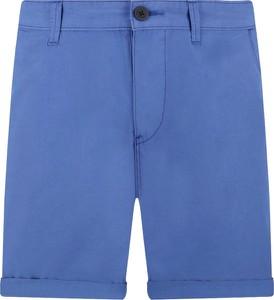Niebieskie spodenki Napapijri w stylu casual