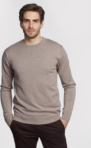 Brązowy sweter Vistula w stylu casual