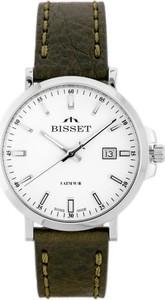 ZEGAREK MĘSKI BISSET BSCE96 (zb079a) - Srebrny || Brązowy