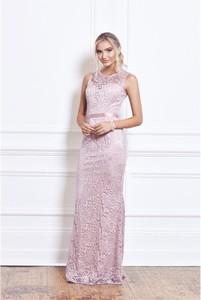 Różowa sukienka Sistaglam bez rękawów