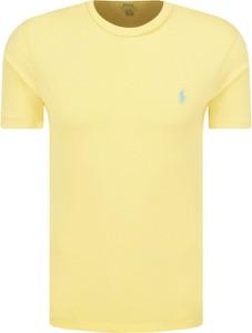 Żółty t-shirt POLO RALPH LAUREN