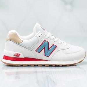 7523bd729039c6 Białe buty sportowe męskie New Balance, kolekcja lato 2019