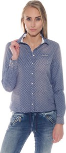 Koszula Pepe Jeans z długim rękawem z kołnierzykiem