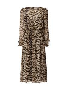 Sukienka Jake*s Collection w stylu casual z szyfonu z długim rękawem