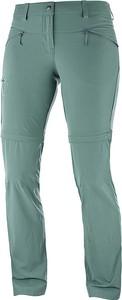 Niebieskie spodnie sportowe Salomon
