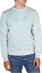 Niebieska bluza Hackett z bawełny