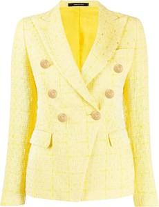 Żółta kurtka Tagliatore ze sztruksu