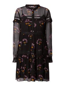 Sukienka Twinset w stylu casual z długim rękawem z dekoltem w kształcie litery v