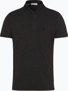 Czarna koszulka polo Selected w stylu casual