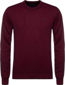 Czerwony sweter Trussardi Jeans