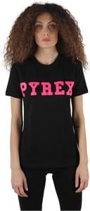 Czarny t-shirt Pyrex z krótkim rękawem
