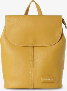 Żółty plecak Suri Frey ze skóry