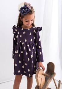 Sukienka dziewczęca Myprincess / Lily Grey w groszki z bawełny