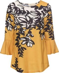 Bluzka bonprix bodyflirt boutique w elegenckim stylu w kwiaty