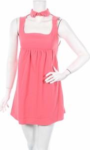 Różowa sukienka Betty Blue bez rękawów