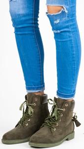23a70b417c5c7 Brązowe buty damskie na obcasie Czasnabuty, kolekcja wiosna 2019