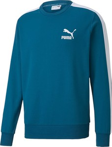 Niebieska bluza Puma z bawełny